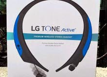 سماعات بلوتوثLG الاصليه 100٪ ضد الماء وضد التعرق تستخدم لأغراض الرياضه LG HBS850