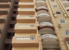 شقة للبيع أمام فيلا الدكتور البدري أبو ضيف عضو مجلس الشعب بالمعلمين