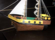boat in raw paper, and we do have more choices of sizes of boat.