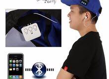Men Women Unisex Wireless Sport Bluetooth Music Hat Cap Speaker Earphones Baseball Hat !!