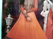 فستان اورانج بنجاب هندي