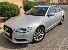 Audi A6 2014 .