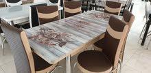 طاولة طعام 6كراسي