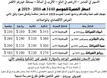 عمرة بداية الموسم باسعار رخيصة
