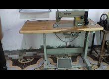 مكينة خياطة تجارية نضيفة سعرها 325 الف