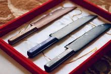 سكين مصنوعة يدويا في عمان من حديد دبابة