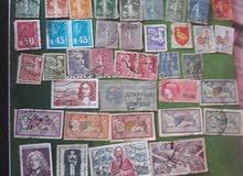 طوابع بريدية قديمة