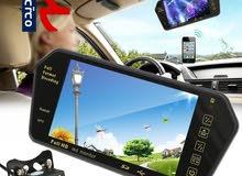 مشغل وسائط متعدد وكاميرا خلفيه ومرايا لسيارتك بسعر 230 ريال شامل التوصيل