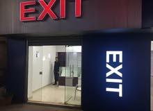 محل تجاري في سوق الدوار السابع للخلويات 0797677991