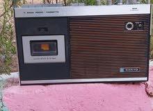 راديو قديم سانيو