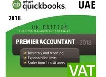 QUICKBOOKS PREMIER ACCOUNTANT 2018 UAE VAT ACCOUNTING SOFTWARE
