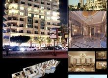 للشركات الكبرى شقة للايجار بارقى مواقع مصر الجديدة بالقرب من تيفولى