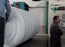 خزانات بلاستيك نفخ وروتيشن