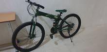 للبيع دراجة جبلية رياضية قابلة للطي ب 7 سرعات قياس 26 بوصة    اللون أخض