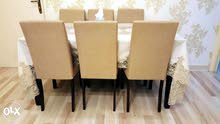 Dimmer Table with 6 chairs