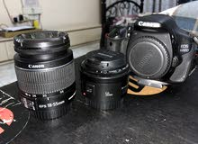 CANON 600D with 2 lenses and Tripod