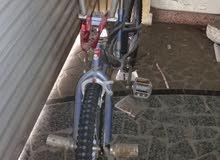 مزاد على دراجة