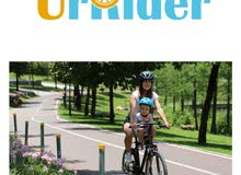 Child Bike Seat, Portable, Foldable & Ultralight Front Mount Baby Kids' Bicycle