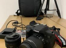 Canon 750D +2 Extra lens
