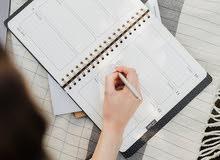 الكتابة والتدقيق والتحرير