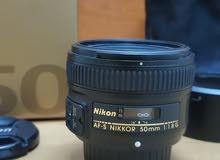 Nikon 50 mm f1.8 G العدسة نيكون