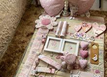 سجادة صوف، لحاف تخت، وديكور لغرفة من mamas & papas