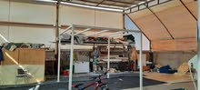 Steel pergola available for sale