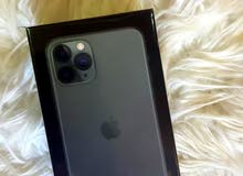 هاتف ايفون 11 برو ...سعة 256GB ...جديد بكرتونة ...ضمان متجر شرف دي جي الشهير ...