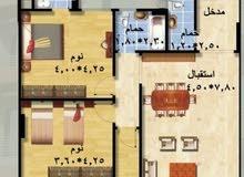 بتسهيلات وبدون فوائد شقة بالقاهرة الجديدة 211م