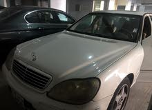 Used condition Mercedes Benz S 320 2002 with  km mileage