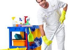 تنظيف المنازل والمباني