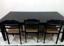 Long Dinning Table + 6 Chairs