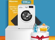غسالة هايسنس 8 ك Hisense
