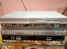 اجهزة مشتركة كاسيت فيديو VHS و DVD و اجهزة مشتركة كاسيت فيديو و ستلايت .