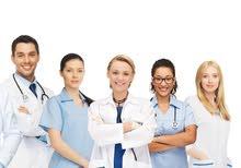 مطلوب طبيب باطنية و عام