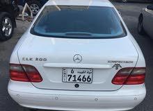 For sale 2001 White CLK 200
