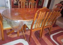 طاولة اكل تركية و6 كراسي