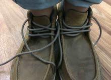 حذاءجلد طرف واحد