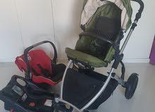 Britax B Ready stroller with car seat FULL set