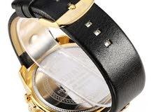 الساعة الكورين الذهبية الانيقة