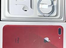 ايفون 8 بلص 265 جيجا احمر كفاله شغاله
