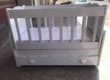 سرير طفل تركي يتوفر توصيل لجميع المحافظات