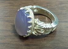 خاتم فضه  silver ring