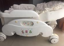 سرير كهربائي هزاز للاطفال