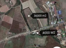 أرض للبيع مساحتها 4 هكتارات بوزنيقة