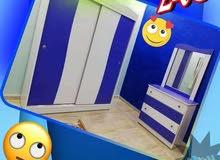 غرف اطفال وشباب بسعر خيالي 240دينار فقط خشب لاتيه 18م إندونيسي