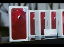 للبيع ابل ايفون 8 بلس الاصدار الخاص (احمر)