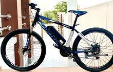 دراجة هوائية بمحرك كهربائي مساعد