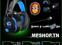 CASQUE MICRO USB GAMER LED