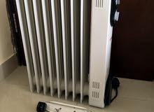 oil heater 2 pieces for sale